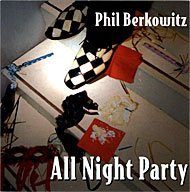 """All Night Party"" CD cover"